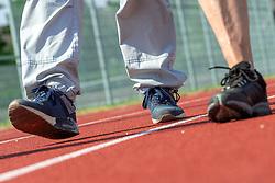 04-07-2018 NED: Nationale Diabetes Challenge, Baarn<br /> Diverse gezondheidscentra, huisartsenpraktijken en fysiotherapie praktijken zijn met ondersteuning van de BvdGF gestart met een lokale wandel challenge. De grote finale vindt plaats op 29 september in het Olympisch Stadion Amsterdam