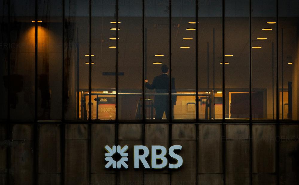 General Views of the a Royal Bank of Scotland in Edinburgh.09/02/09 Michael Hughes/Maverick