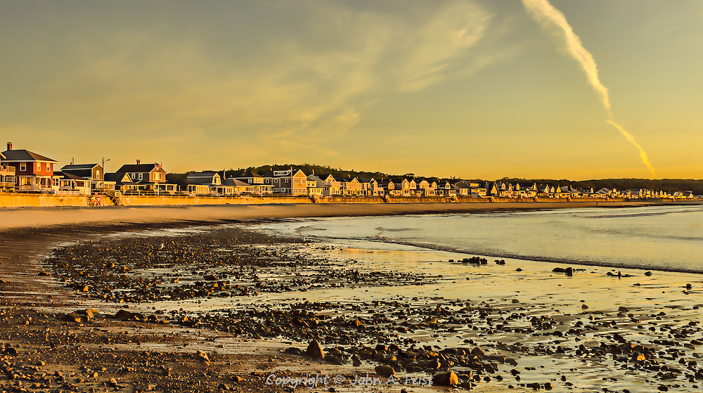 I was fortunate to capture the perfect morning light at low tide on Cape Ann in Gloucester, MA.  I've taken certain liberties in the post processing to get the most out of this shot and have several presentations available.<br />