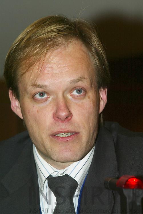 BRUSSELS - BELGIUM - 10 JANUARY 2006 -- Kurt VANDENBERGHE, Deputy head of cabinet of Commissioner Potocnik.  PHOTO: ERIK LUNTANG /