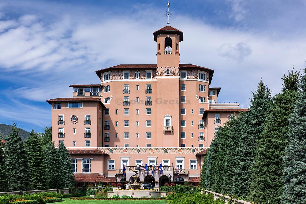 The Broadmoor Resort Hotel, Colorado Springs, Colorado