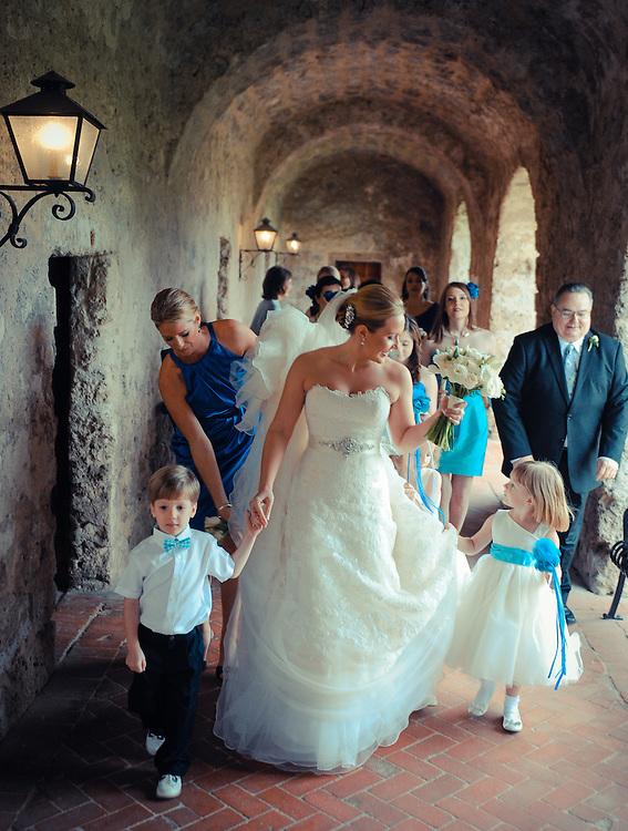 20120311Saturday170706.Shelley Myers and Charles Watson wedding Saturday, March 10, 2012 in San Antonio..Mission Concepcion, Westin Riverwalk.Saturday3/10/12.Photo © Bahram Mark Sobhani