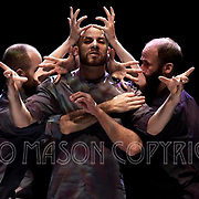 LONDON, ENGLAND - OCTOBER 27: Eastman-Sidi Larbi Cherkaoui and his Eastman company performing Fractus V at Sadlers Wells Theatre on October 27, 2016 in London, England. (Photo by Leo Mason Split Second/Corbis via Getty Images)