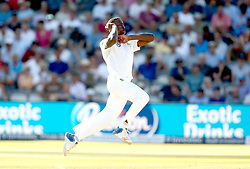 Kagiso Rabada of South Africa bowls at England - Mandatory by-line: Robbie Stephenson/JMP - 08/07/2017 - CRICKET - Lords - London, United Kingdom - England v South Africa - Investec Test Series