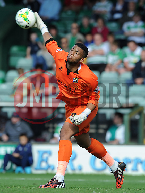 Aaron Chapman of Bristol Rovers- Photo mandatory by-line: Harry Trump/JMP - Mobile: 07966 386802 - 15/08/15 - SPORT - FOOTBALL - Sky Bet League Two - Yeovil Town v Bristol Rovers - Huish Park, Yeovil, England.