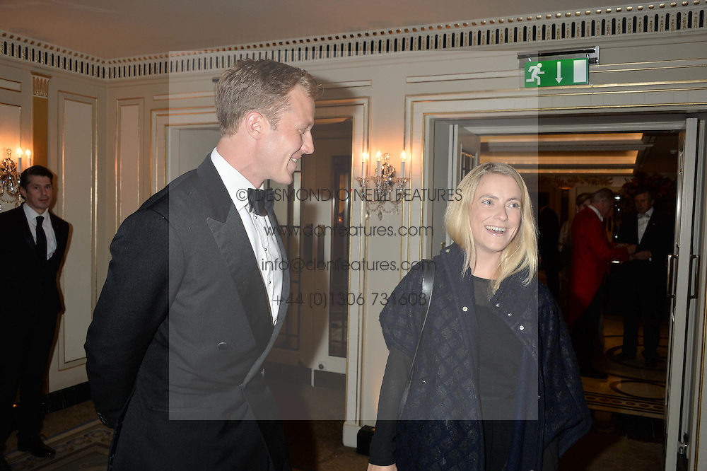 CHARLIE & SAM PEARSON at the 26th Cartier Racing Awards held at The Dorchester, Park Lane, London on 8th November 2016.