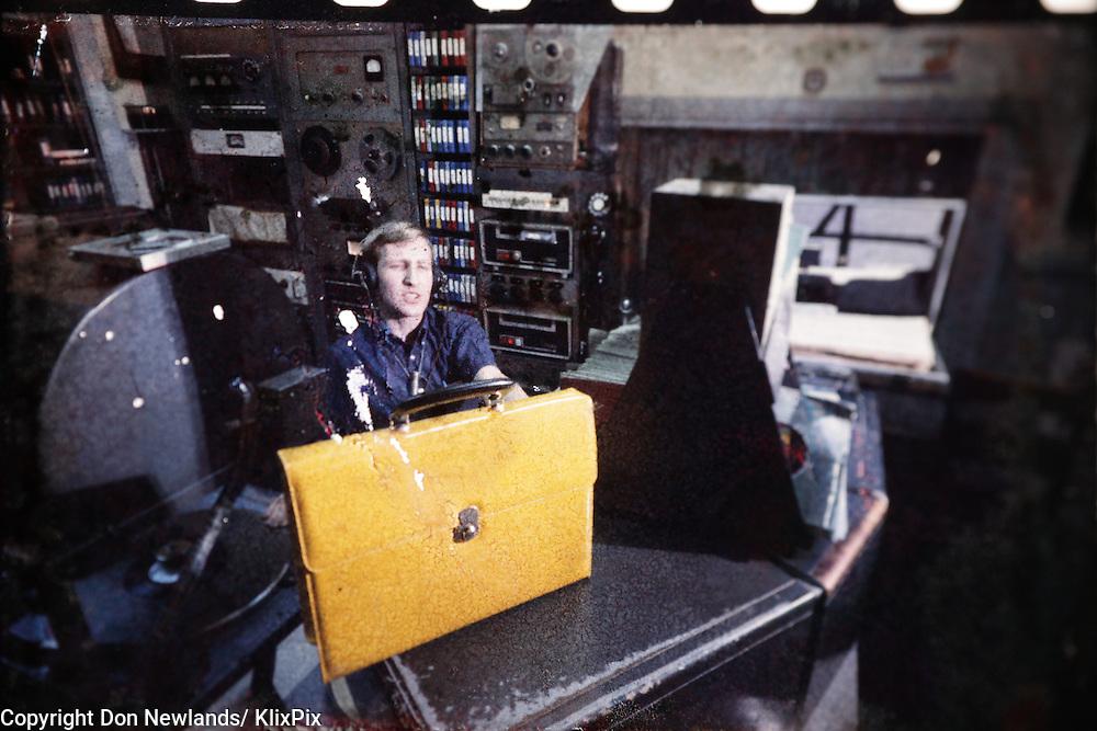 Eric Mac Ewen, DJ, man; entertainer; broadcast; talent; music; Halifax,1967-69