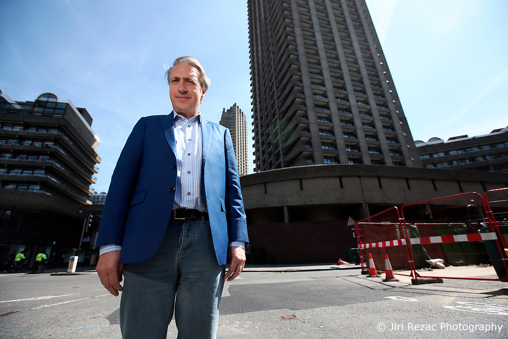 UK ENGLAND LONDON 10MAY17 - Stephan Shakespeare, CEO and co-founder of internet-based market research and opinion polls company YouGov at the Barbican in London.<br /> <br /> jre/Photo by Jiri Rezac<br /> <br /> &copy; Jiri Rezac 2017
