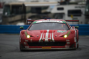 January 30-31, 2016: Daytona 24 hour: #63 Ferrari 488 GTE