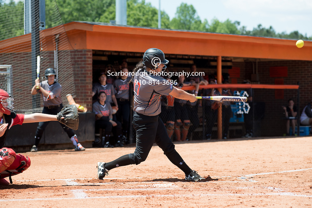 BUIES CREEK, NC - May 7th, 2016 Campbell University Softball vs Radford