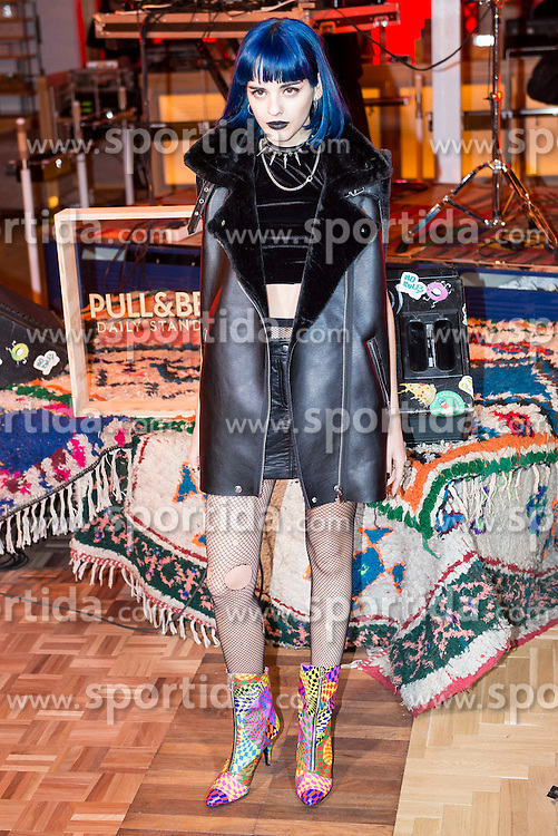 03.12.2015, Madrid, ESP, opening party, World big store of PULL & BEAR, im Bild Sita Abellan // during the opening party of the World big store of PULL & BEAR in Madrid, Spain on 2015/12/03. EXPA Pictures © 2015, PhotoCredit: EXPA/ Alterphotos/ BorjaB.hojas<br /> <br /> *****ATTENTION - OUT of ESP, SUI*****