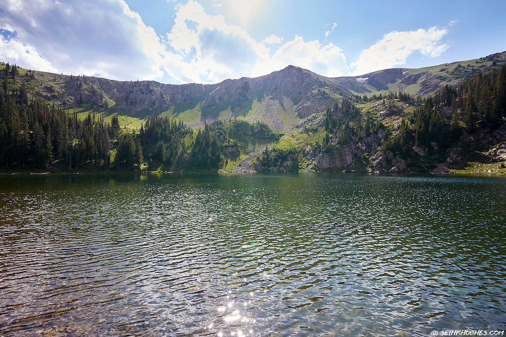 Parika Lake in the Never Summer Wilderness, Colorado