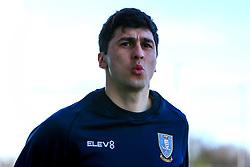 Fernando Forestieri of Sheffield Wednesday - Mandatory by-line: Ryan Crockett/JMP - 16/02/2019 - FOOTBALL - Aesseal New York Stadium - Rotherham, England - Rotherham United v Sheffield Wednesday - Sky Bet Championship