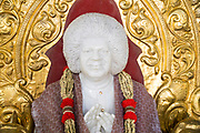 PUTTARPATHI, INDIA - 27th October 2019 - Shrine of Sathya Sai Baba, Puttarpathi, Andhra Pradesh, South India