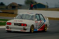 #77 Nick Baird Auto Trader Techspeed Team BMW M3  during Round 1of the 1991 British Touring Car Championship at Silverstone, Towcester, Northamptonshire, United Kingdom. 1st April 1991, World Copyright Peter Taylor/PSP. Copy of publication required for printed pictures.