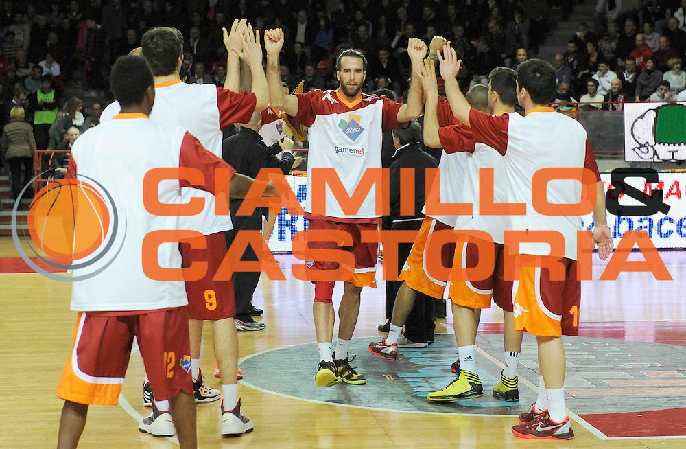 DESCRIZIONE : Varese Lega A 2012-13 Cimberio Varese Acea Roma<br /> GIOCATORE : Luigi Datome<br /> SQUADRA : Acea Roma<br /> EVENTO : Campionato Lega A 2012-2013<br /> GARA :  Cimberio Varese Acea Roma<br /> DATA : 01/04/2013<br /> CATEGORIA : Presentazione<br /> SPORT : Pallacanestro<br /> AUTORE : Agenzia Ciamillo-Castoria/A.Giberti<br /> Galleria : Lega Basket A 2012-2013<br /> Fotonotizia : Varese Lega A 2012-13 Cimberio Varese Acea Roma<br /> Predefinita :