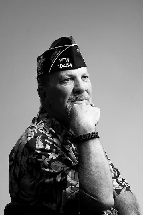 Jon Lunkwicz<br /> Army<br /> E-5<br /> Infantry<br /> 1971 - 1975<br /> Vietnam<br /> <br /> Veterans Portrait Project<br /> St. Louis, MO