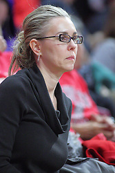 NORMAL, IL - November 13: Melissa Muller during a college basketball game between the ISU Redbirds  and the Chicago State Cougars on November 13 2018 at Redbird Arena in Normal, IL. (Photo by Alan Look)