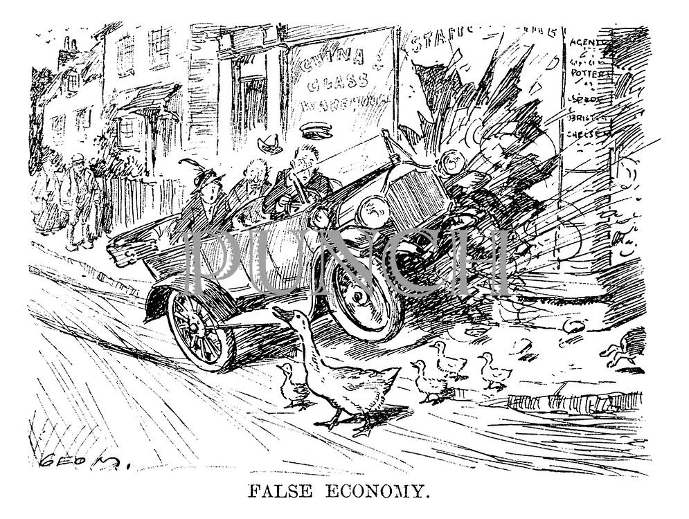 False Economy.