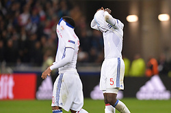 May 11, 2017 - Lyon, France - 10 ALEXANDRE LACAZETTE (ol) - 05 Mouctar Diakhaby (ol) - DECEPTION (Credit Image: © Panoramic via ZUMA Press)