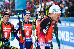 March 10, 2019 - –Stersund, Sweden - 190310 Tarjei Bø of Norway looks dejected after the Men's 12,5 km Pursuit during the IBU World Championships Biathlon on March 10, 2019 in Östersund..Photo: Petter Arvidson / BILDBYRÃ…N / kod PA / 92255 (Credit Image: © Petter Arvidson/Bildbyran via ZUMA Press)