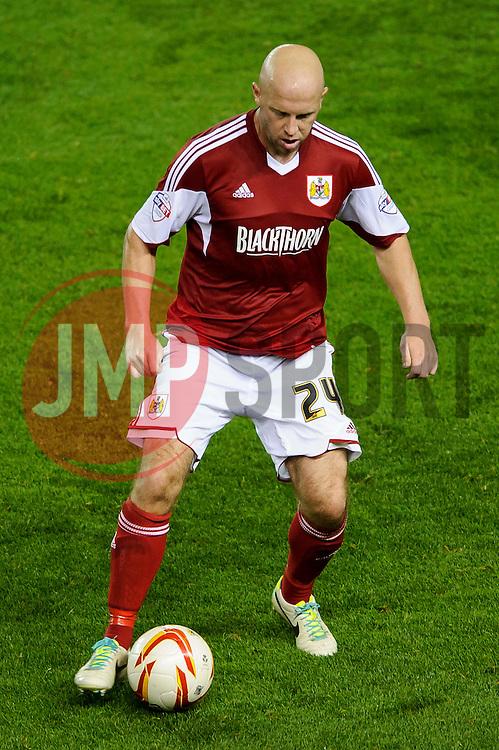 during the second half of the match - Photo mandatory by-line: Rogan Thomson/JMP - Tel: 07966 386802 - 04/09/2013 - SPORT - FOOTBALL - Ashton Gate, Bristol - Bristol City v Bristol Rovers - Johnstone's Paint Trophy - First Round - Bristol Derby