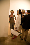 TRUDY STYLER; DAPHNE GUINNESS, Mario Testino: Obsessed by You -  private view<br />Phillips de Pury & Company, Howick Place, London, SW1, 2 July 2008 *** Local Caption *** -DO NOT ARCHIVE-© Copyright Photograph by Dafydd Jones. 248 Clapham Rd. London SW9 0PZ. Tel 0207 820 0771. www.dafjones.com.