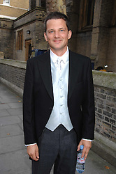 GEORGE DUFFIELD at the wedding of Chloe Delevingne to Louis Buckworth at St.Paul's Knightsbridge, London on 7th September 2007.<br /><br />NON EXCLUSIVE - WORLD RIGHTS
