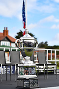 Detailed view of the Walker Cup Trophy during the Walker Cup Opening Ceremony, Friday at the Royal Liverpool Golf Club, Friday, Sept 6, 2019, in Hoylake, United Kingdom. (Steve Flynn/Image of Sport)