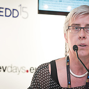 03 June 2015 - Belgium - Brussels - European Development Days - EDD - Health - Access to sexual and reproductive health and rights - A prerequisite for youth economic empowerment - Renate Bahr , Member of the High Level Task Force for ICPD , Executive Director DSW © European Union