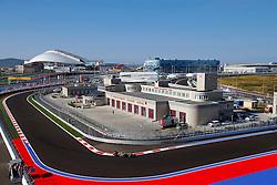 10.10.2014, Sochi Autodrom, Sotschi, RUS, FIA, Formel 1, Grosser Preis von Russland, Training, im Bild Pastor Maldonado (VEN) Lotus E22. // during the Practice of the FIA Formula 1 Russia Grand Prix at the Sochi Autodrom in Sotschi, Russia on 2014/10/10. EXPA Pictures © 2014, PhotoCredit: EXPA/ Sutton Images/ Martini<br /> <br /> *****ATTENTION - for AUT, SLO, CRO, SRB, BIH, MAZ only*****