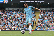 Manchester City Forward, Nolito (9) during the the Premier League match between Manchester City and West Ham United at the Etihad Stadium, Manchester, England on 28 August 2016. Photo by Mark Pollitt.