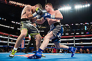 /BOXER ACTION against /BOXER in a bout for the WBO light-middleweight title at AT&T Stadium in Arlington, Texas on September 16, 2016.  (Cooper Neill for ESPN)