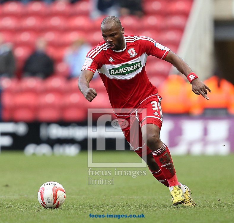 Picture by Paul Gaythorpe/Focus Images Ltd +447771 871632.16/03/2013.Andre Bikey of Middlesbrough during the npower Championship match at the Riverside Stadium, Middlesbrough.