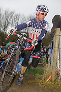 BREDENE / CYCLING / CYCLISME / WIELRENNEN / CYCLOCROSS / VELDRIJDEN / ELITE /  VERSLUYS CYCLOCROSS BREDENE / EP PAUL HERYGERS / JONATHAN PAGE (USA) /
