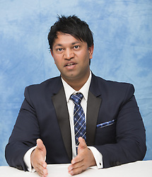 November 12, 2016 - Hollywood, California, U.S. - SAROO BRIERLEY Writer of the movie 'Lion.' Saroo Brierley (born 1981) is an Indian-born Australian businessman who was separated from his birth mother, adopted by an Austalian couple, and 25 years later reunited with his birth mother. His story generated significant international media attention, especially in Australia and in India. He has written a book about his experiences titled A Long Way Home, which has been adapted for a film titled Lion, starring Nicole Kidman as his adopted mother, Sue Brierley. (Credit Image: © Armando Gallo/Arga Images via ZUMA Studio)