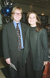MR & MRS ALEXANDER IGNATIFF, she is the daughter of racing driver Derek Bell, at a party in London on April 17th 1997.LXT 38