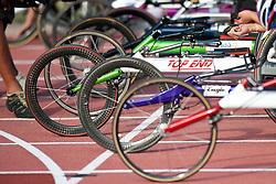 Behind the scenes, , 5000m, T54, 2013 IPC Athletics World Championships, Lyon, France