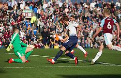Harry Kane of Tottenham Hotspur (C) scores his sides first goal - Mandatory by-line: Jack Phillips/JMP - 23/02/2019 - FOOTBALL - Turf Moor - Burnley, England - Burnley v Tottenham Hotspur - English Premier League