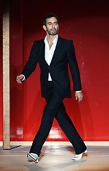 Designer Marc Jacobs at the end of his show at  New York Fashion Week, Monday, 10th  September 2012. Photo by: Stephen Lock / i-Images