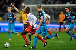 22-01-2012 VOETBAL: FC UTRECHT - PSV: UTRECHT<br /> Utrecht speelt gelijk tegen PSV 1-1 / Enzio Boldewijn, Timothy Derijck<br /> ©2012-FotoHoogendoorn.nl
