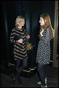 TIA GRAHAM; GEORGINA POWNALL, Party to celebrate Vanity Fair's very British Hollywood issue. Hosted by Vanity Fair and Working Title. Beaufort Bar, Savoy Hotel. London. 6 Feb 2015