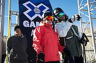 Tirll Sjastad Christiansen during Women's Ski Slopestyle Practice at the 2013 X Games Aspen at Buttermilk Mountain in Aspen, CO.  Brett Wilhelm/ESPN