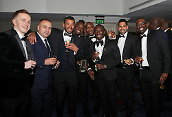 Guests before the show during the Professional Footballers' Association Awards 2017 at the Grosvenor House Hotel, London