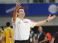 Handball EM Herren 2010 Vorrunde Deutschland - Schweden 22.01.2010 Heiner Brand (Trainer GER)