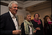 HENRY WYNDHAM; CARY GOOD; FELIX ANAUT, Sotheby's Frieze week party. New Bond St. London. 15 October 2014.