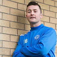 St Johnstone defender Tam Scobbie pictured ahead of tomorrow's game against Inverness Caley Thistle....<br /> Picture by Graeme Hart.<br /> Copyright Perthshire Picture Agency<br /> Tel: 01738 623350  Mobile: 07990 594431