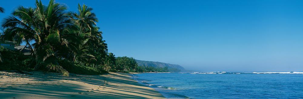 Mokulea Beach,  North Shore, Oahu, Hawaii, USA<br />