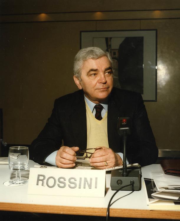 Convegno Internazionale Milano Hotel Michelangelo 1987<br /> rossini