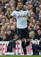 Football - 2016 / 2017 Premier League - Tottenham Hotspur vs. Leicester City<br /> <br /> Kyle Walker of Tottenham at White Hart Lane.<br /> <br /> COLORSPORT/DANIEL BEARHAM